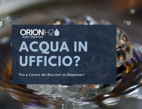 Acqua per Ufficio: Boccioni contro Dispenser?