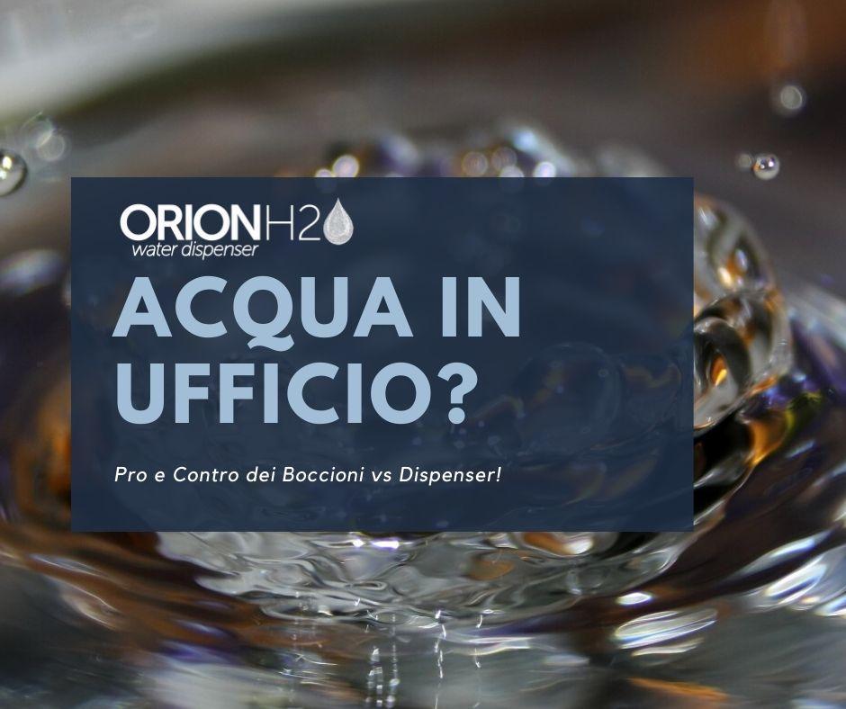 Acqua Per Ufficio Boccioni Contro Dispenser Orion H2o