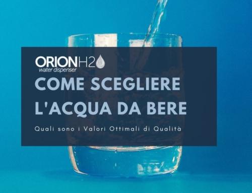 Quali sono i Valori Ottimali dell'acqua da bere