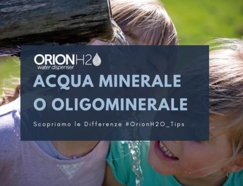 Meglio acqua minerale o oligominerale?