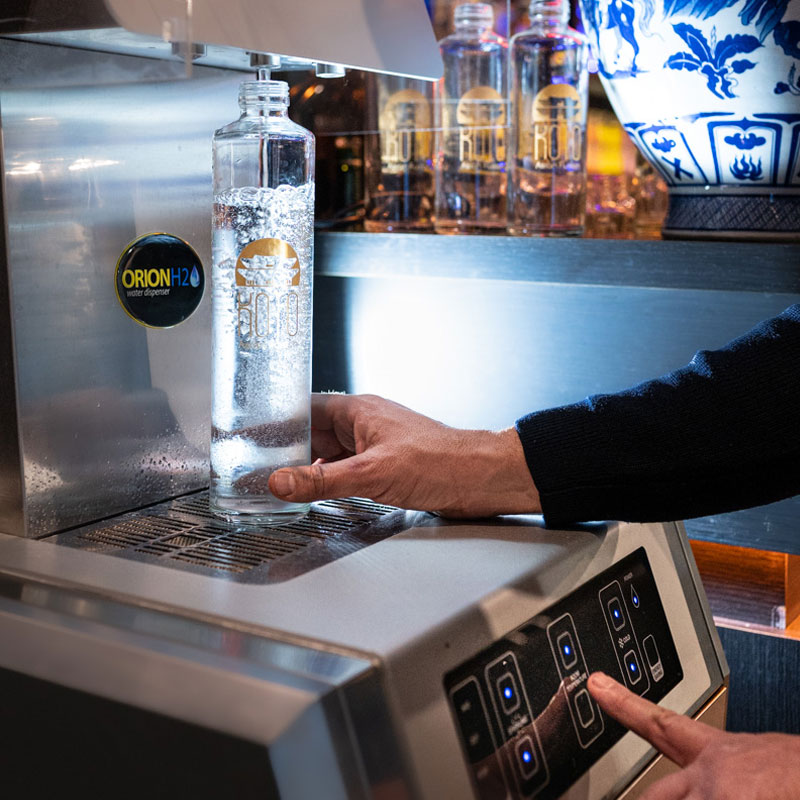 bottiglie personalizzate ristoranti roma