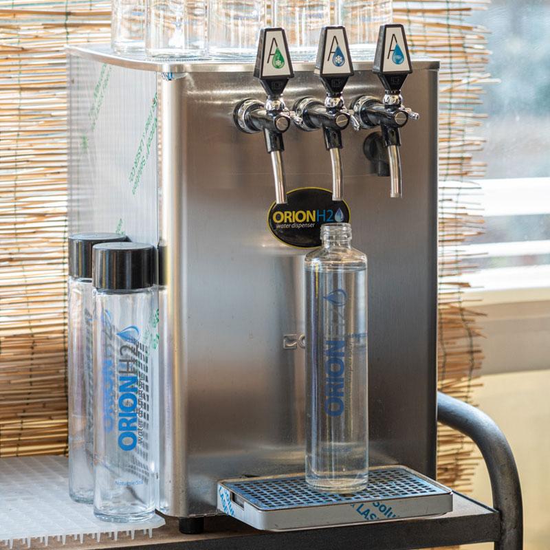macchinario per erogazione acqua