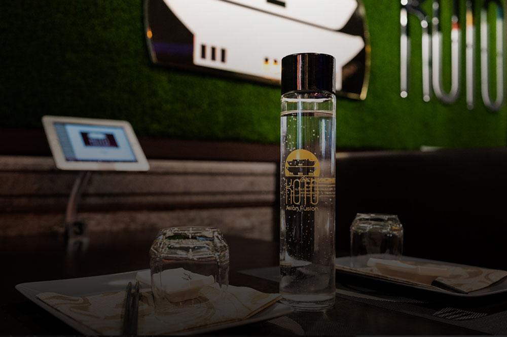 bottiglie personalizzate per ristoranti